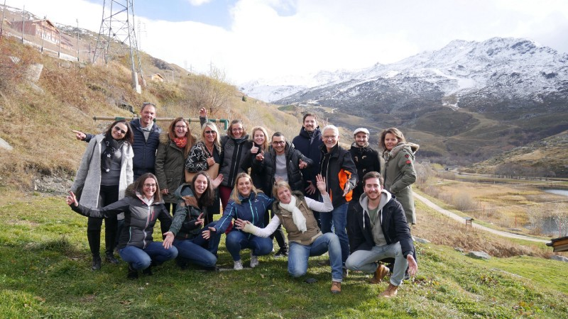 experience factory team we digital garden experience client station ski